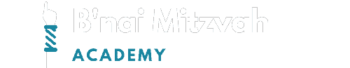 B'nai Mitzvah Academy Logo White