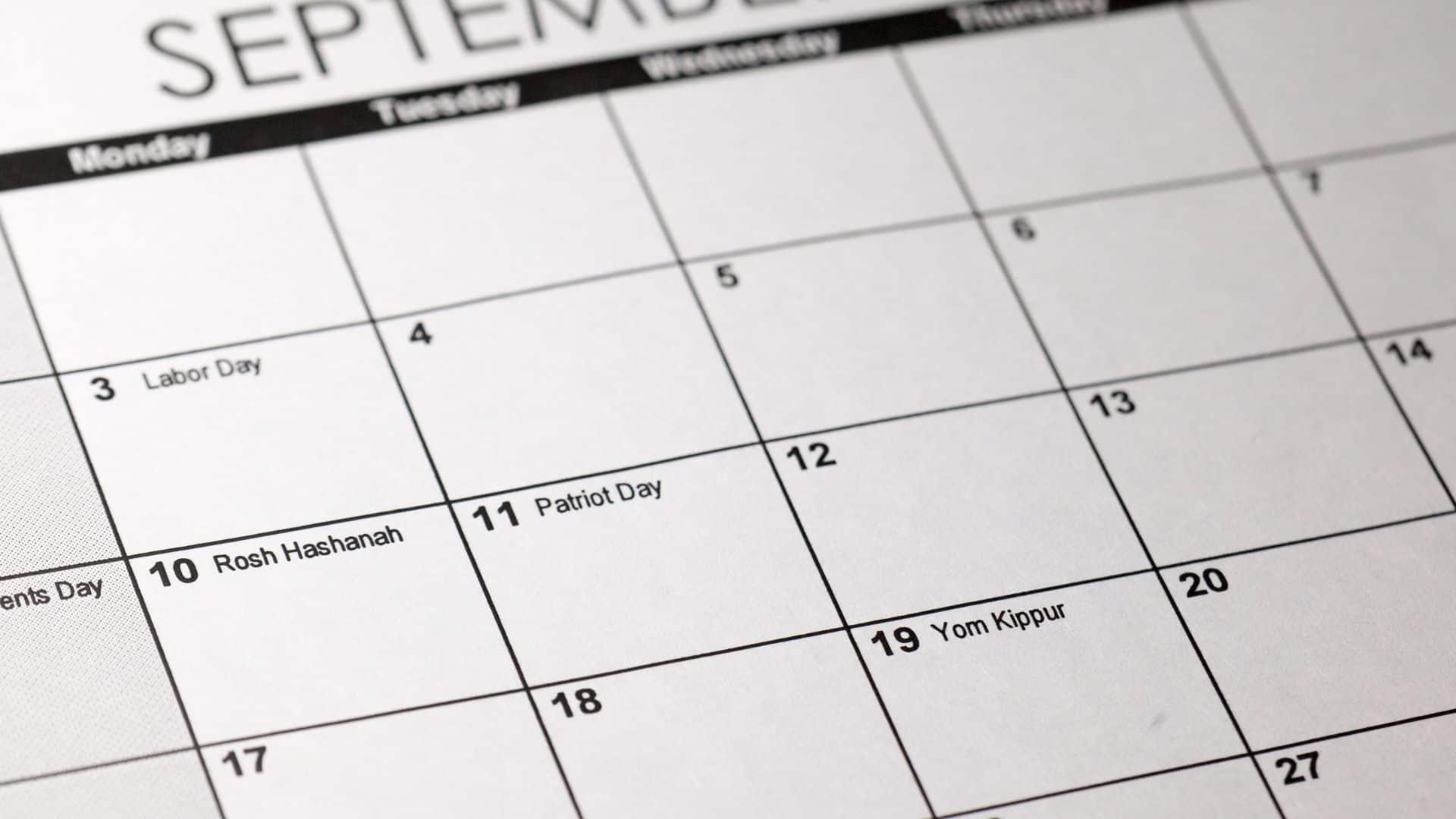 Jewish Calendar 2022 2023.Use This Jewish Holidays Calendar For 2021 2030 B Nai Mitzvah Academy
