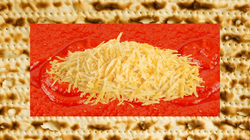 Matzah Pizza Full Size