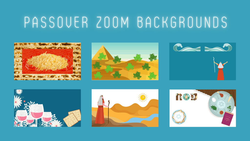 Passover Zoom Backgrounds