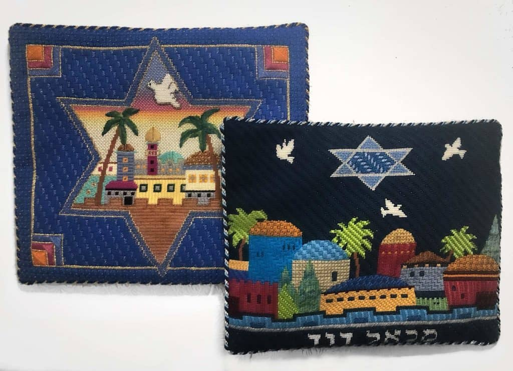 Needlepoint Tallit Bag