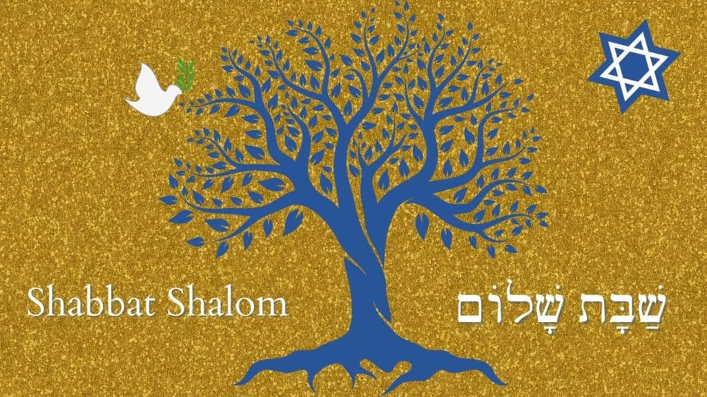 Tree of Life Virtual Shabbat Background