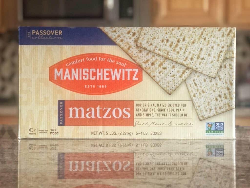 Manischewitz Matzos 5 pack