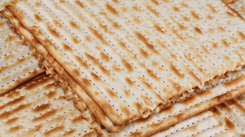 kosher for Passover matzo