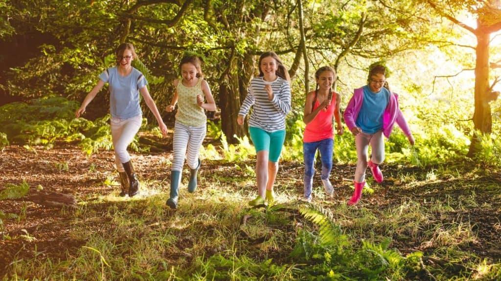 summer camp hikes