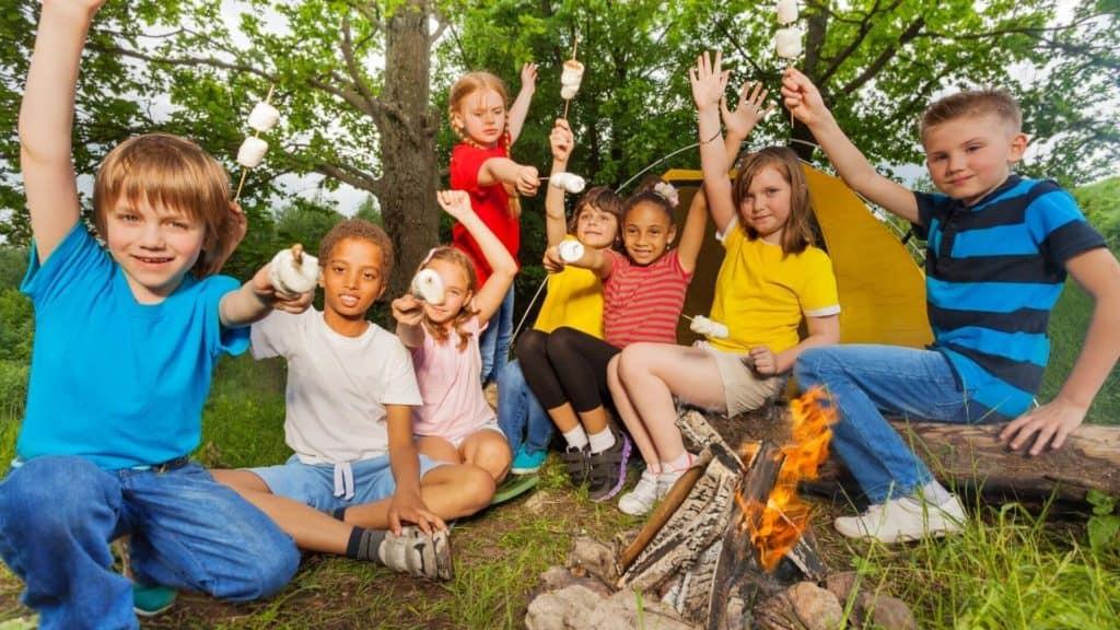 summer camp smores