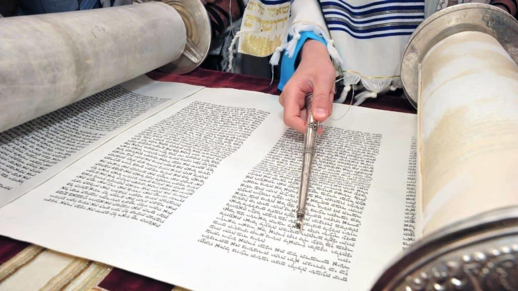 bar mitzvah reading torah