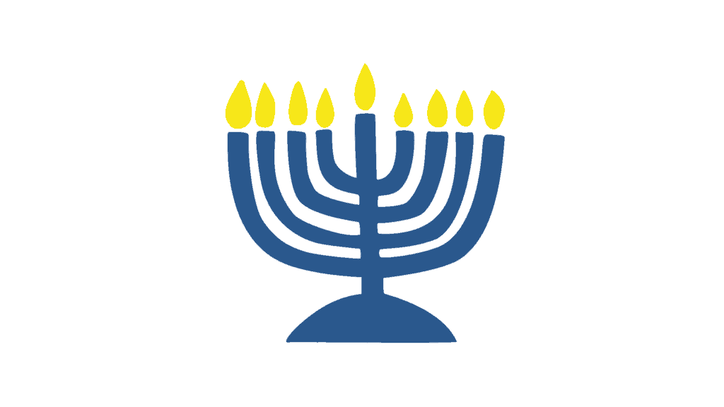 menorah jewish symbol